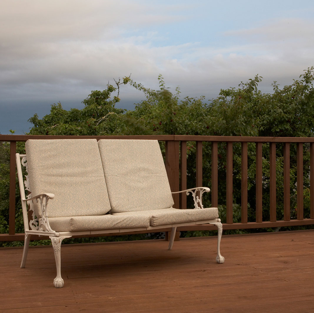 Pacific Light – Chair on the Deck